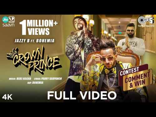 Photo of CROWN PRINCE Lyrics in English and Punjabi Jazzy B feat. Bohemia