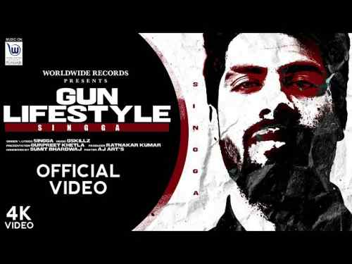 GUN LIFESTYLE Lyrics in English and Punjabi | SINGGA | NEW SONG 2020