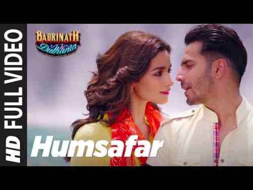 Photo of Sun Mere Humsafar Lyrics – Akhil Sachdeva -Badrinath Ki Dulhaniya