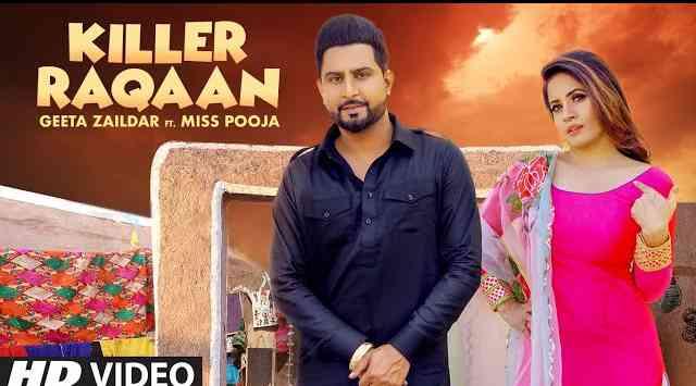 Killer Raqaan Lyrics in English and Punjabi   Geeta Zaildar   Miss Pooja