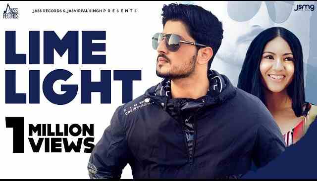 Photo of Lime Light Lyrics in English and Punjabi | Gurnam Bhullar | Gill Raunta