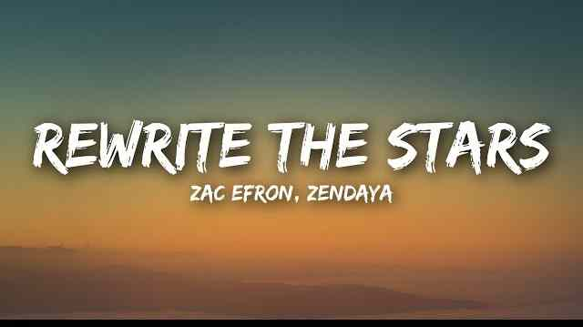Photo of Rewrite The Stars Lyrics and Easy Chords by Zac Efron & Zendaya