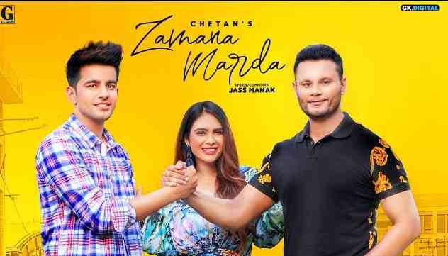 Photo of Zamana Marda Lyrics in English and Punjabi | Chetan Feat. Jass Manak