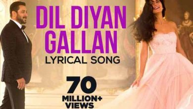 Photo of Dil Diyan Gallan Chords with Capo and Lyrics – Atif Aslam – Tiger Zinda hai